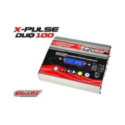 TEAM CORALLY X-PULSE AC/DC DUO LADER, 2 X 100W, LCD SCREEN
