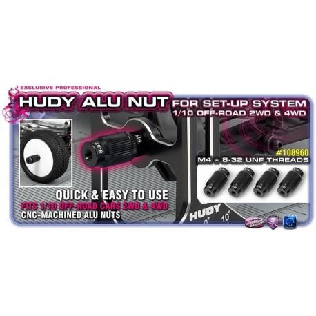 Alu Nut For 1/10 Off-Road Set-Up System (4)
