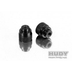 Alu Nut M3 For 1/10 & 1/12 Pan Car Set-Up System (2)