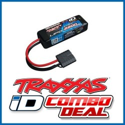 Power Cell LiPo 2200mAh 7.4V 2S 25C .   COMBO