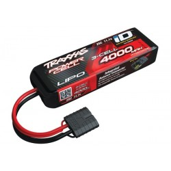 Power Cell LiPo 4000mAh 11.1V 3S 25C . all models  ID