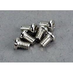 Low speed spray bar screws. 2x4mm roundhead machine screws (