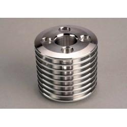 Cooling head. TRX .15 engine (machined aluminum) (Stock Nitr