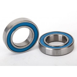 Ball bearings. blue rubber sealed (12x21x5mm) (2)