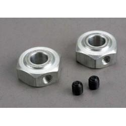 Aluminum hex wheel hubs (2)/ 5x6 GS (2)