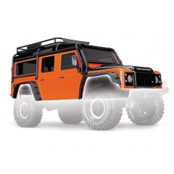 Body. Land Rover Defender. adventure orange (complete with ExoCage. inner fende