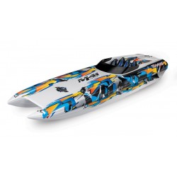 Traxxas DCB M41 Catamaran Race Boat TQi TSM. Orange