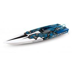 Traxxas Spartan TQi TSM. Blue