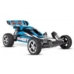 Traxxas Bandit XL-5 TQ  (incl. battery/charger). Blue