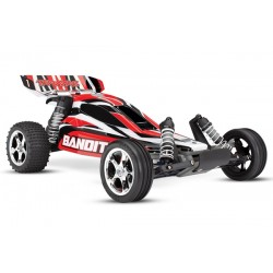 Traxxas Bandit XL-5 TQ  (incl. battery/charger). Red
