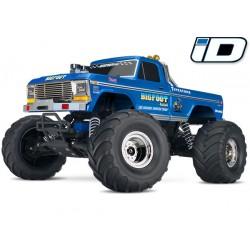 Traxxas Big Foot No. 1 The Original Monster Truck . XL-5 TQ (incl bat/chrgr)