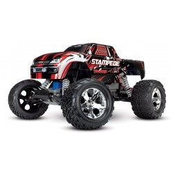 Traxxas Stampede XL-5 TQ (no battery/charger). Red