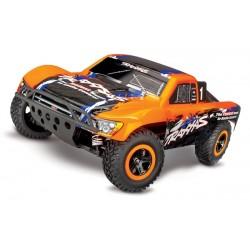 Traxxas Slash 4x4 VXL TQi TSM (no battery/charger). Orange