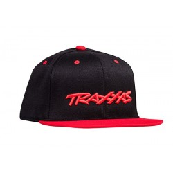 Snap Hat Flat Bill Black/Red