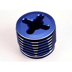 Cooling head. pro (mach. alum.) (blue-anodized)