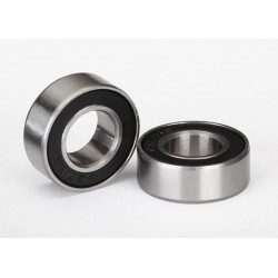 Ball bearings. black rubber sealed (7x14x5mm) (2)