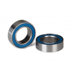 Ball bearings. blue rubber sealed (6x10x3mm) (2)