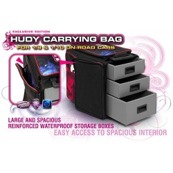 Hudy 1/10 & 1/8 Carrying Bag + Tool Bag - Exclusive Edition