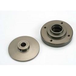 Slipper pressure plates