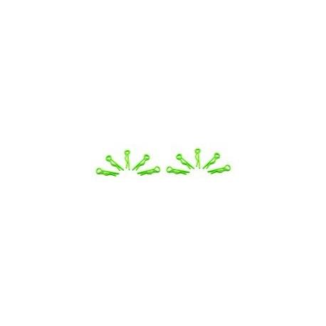 Arrowmax Small Body Clip 1/10 - Fluorescent Green