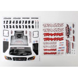 Decal sheets. 1/16 Slash 4WD team truck