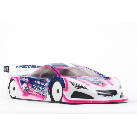 Zoo-Racing HellCat 1:10 Touring Car Clear Body - 0.7mm REGULAR