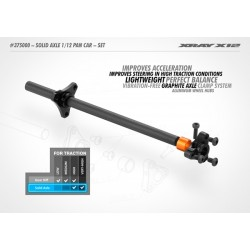 XRAY Solid Axle 1/12 Pan Car - Set