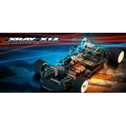 XRAY X12 - 2020 US SPECS - 1/12 PAN CAR