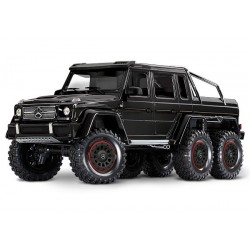 Traxxas TRX-6 Mercedes-Benz G 63 AMG Body 6X6 Electric Trail Truck Black