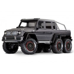 Traxxas TRX-6 Mercedes-Benz G 63 AMG Body 6X6 Electric Trail Truck Silver