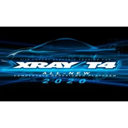 XRAY T4 - 2020 SPECS - 1/10 LUXURY ELECTRIC TC Graphite edition