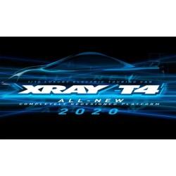 XRAY T4 - 2020 SPECS - 1/10 LUXURY ELECTRIC TC Graphite edition