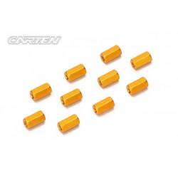 CARTEN Sechskant 5,5x10mm Aluminium (10)