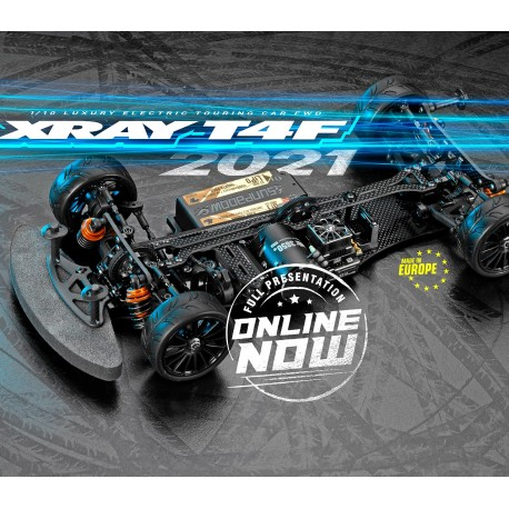 XRAY T4F'21 - 1/10 LUXURY ELECTRIC TC FWD