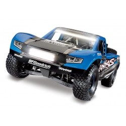 Traxxas Unlimited Desert Racer 4WD incl LED, TQi VXL-6S (no bat/chrg), TRX Blue