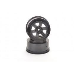 Short Course Wheel Black + 3 Offset