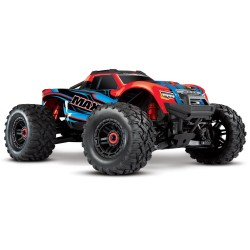 Traxxas Maxx 1/10 Scale 4WD Brushless Electric Monster Truck, VXL-4S, TQi - REDX