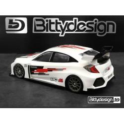 Bittydesign 1/10 HC-M M-Chassis Clear Body 210-225mm wheelbase
