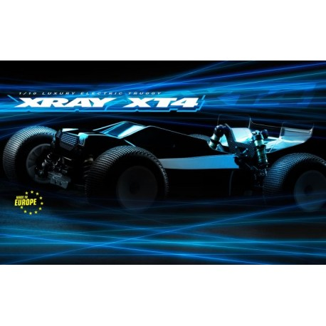 XRAY XT4.2 - 4WD 1/10 ELECTRIC OFF-ROAD TRUGGY