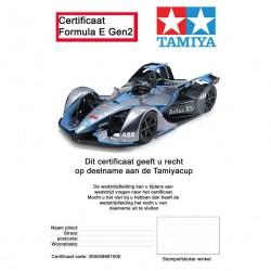 TC-01 Chassis 1/10 Formula E Gen2 met certificaat