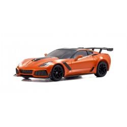 Karosserie Mini-z MR03RWD Chevrolet Corvette ZR1 Orange (W-MM)