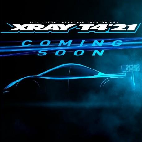 XRAY T4'21 - ALU SOLID EDITION - 1/10 LUXURY ELECTRIC TC