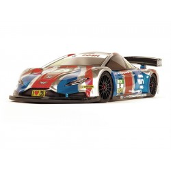 ZooRacing Wolverine 1:10 190mm Touring Car Clear Body - 0.5mm LIGHTW