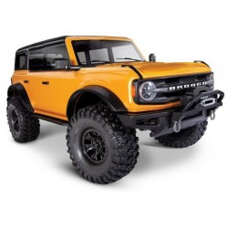Traxxas TRX-4 Scale and Trail Crawler with 2021 Ford Bronco Body ORANGE