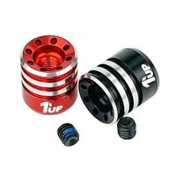 1up Racing Heatsink Bullet Plug Grips - Fits LowPro Bullet Plugs
