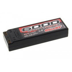 Team Corally - X-Treme Pro 90C 6000 mAh 7,4V Competition Li-Po Battery Pack