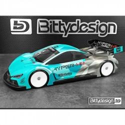 Bittydesign 1/10 Touring HYPER-HR 190mm Clear Body (Ultra Light Technology)