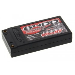 Team Corally - X-Treme Pro 90C 6400 mAh 3,7V Competition Li-Po Battery Pack