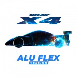 Xray X4 - 1/10 LUXURY ELECTRIC Touring Car - ALU FLEX Edition