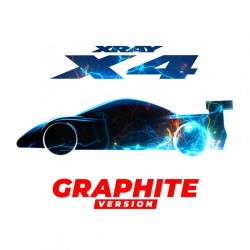 Xray X4 - 1/10 LUXURY ELECTRIC Touring Car - GRAPHITE Edition